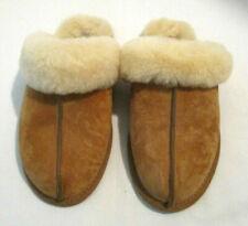 UGG Australia 5661 Womens Scuffette II Slippers - Chestnut, Size 7
