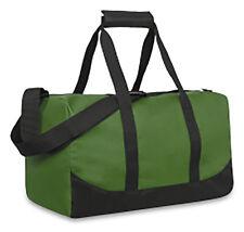 d08958e1a1b Green Canvas Mens Duffle Bag Duffel Gym Sports Carryon Carry On Travel
