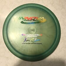 Innova Champion Eagle Ken Climo 11x World Champion Patent #. Ink. Pearly! 156g