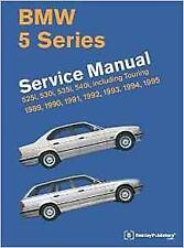 Bentley bmw serie 5 E34 525i 530i 535i 540i Manual de servicio de los propietarios Manual Libro
