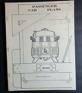Walthers Passenger Car Plans 1969 Usable for all Modelling Scales