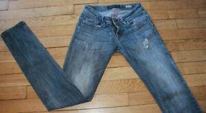 SALSA WONDER Jeans pour Femme W 27 - L 34 Taille Fr 36 (Réf #O200)