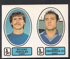 PANINI CALCIATORI FOOTBALL Adesivo 1977-78, N. 421, COMO-SILVANO FONTOLAN