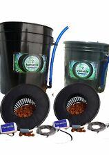 Versa 5/3.5G Hydroponics DWC 2 Pack Quality Hydro So Grow With H2O #DWC #hydro