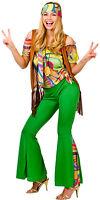 Feeling Groovy Retro Disfraz Hippie NUEVO - MUJER CARNAVAL revestimiento Kos