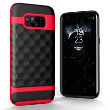 Case Samsung Galaxy S8 Cover Backcover Case Cases 3d Prisma Design Red