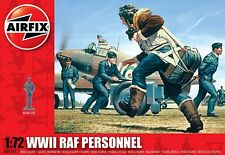 Airfix A01747 Wwii British Raf Personnel 48 Pieces