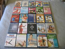Lot of more than 25 Exercise Workout Fitness DVDs P90X Tony Horton