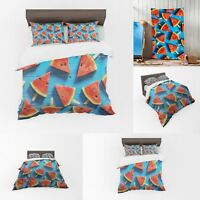 UK Made 3D Watermelon Bed Photo Print Duvet Quilt Cover or Towel
