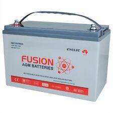12V 100AH 107AH Fusion AGM Deep Cycle Caravan,UPS,Solar,Marine Battery solar ssb