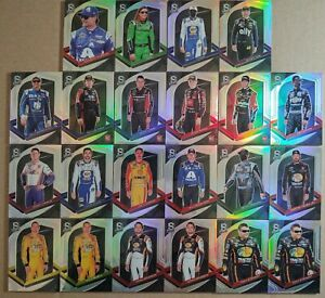 2021 Panini Chronicles Racing Spectra Variation Holo RC Lot of 22 Gordon Busch