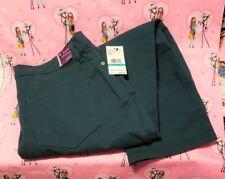 Gloria Vanderbilt Amanda Classic Rise Tapered Leg Jeans Deep Verde 16P Short NWT