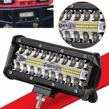 7''inch 400W LED Work Light Bar Flood Spot Beam Offroad 4WD SUV Driving Fog Lamp