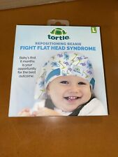 Tortle Repositioning Baby Beanie ~ Prevents Flat Head Syndrome ~ Large ~