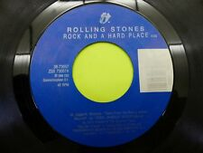 The Rolling Stones cook cook blues / rock and hard place 45 Record Vinyl Album