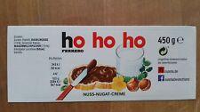 Ferrero Nutella Sticker Aufkleber Etikett für 450g Glas, ho ho ho