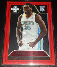 Kenneth Faried 2012-13 Panini Innovation RED Parallel Rookie Card (#'d 17/25)