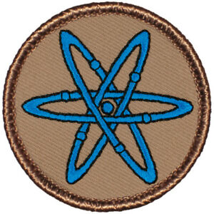 """Atomic Patrol Patch - 2"""" Round Embroidered Patch (062)"""