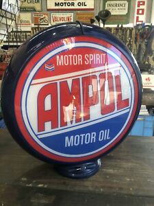 Ampol Repro Bowser Plastic Globe