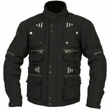 NEW WEISE OUTLAST BALTIMORE 4 SEASONS ARMOURED TEXTILE JACKET BLACK SIZE XL