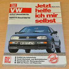 VW Golf Vento Diesel SDI TDI ab 1991 92 Reparaturanleitung JHIMS 155 Volkswagen