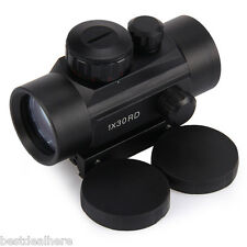 Tactical Holographic Red Dot Riflescope Sight for Hunting Shotgun Sight 1 x 30RD