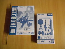 Tamashii Robot Spirits Soul SP Gundam Wing OZ-06MS Leo(Blue) & Option(JP) Set