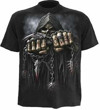 Spiral Direct Game Over T Shirts/Skull/Gothic/Biker/Horror/Rock/Metal/Top/Tee