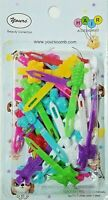 Yours Barrettes Hair MULTI COLOR Animal Girls Toddler Snap Pin Clips Braid 36 Pc