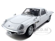 MAZDA COSMO SPORT WHITE 1:18 DIECAST MODEL CAR BY AUTOART 75931