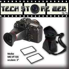 "MEIKE MK-VF100 3"" MIRINO  INGRANDIMENTO 2,8X VIEWFINDER PER CANON Nikon"
