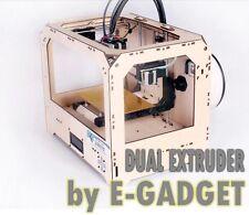 3D PRINTER STAMPANTE 3D CREATOR II DUAL EXTRUDER 2 COLORI REPLICATOR II REPLICA