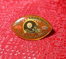 NFL Super Bowl 40 Pittsburgh Steelers 2005 AFC Chapions Pin