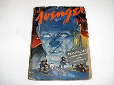 The Avenger Sept. 1939 Vol. 1 No. 1
