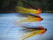 3 V Fly 1 inch Brass Gold Cascade Feeler Francis Salmon Tube Flies & Hooks
