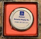 """1960's Anniston Industrial Supply Tape Measure 72 Inch 2"""" D Lufkin NOS NIB"""