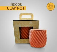 Indoor Outdoor Clay Pot Vase Flower Plant Herbs FREE SHIPPING Terracotta Natural