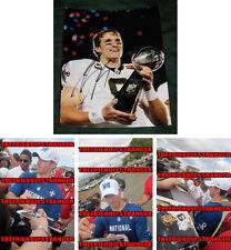 "DREW BREES signed ""NEW ORLEANS SAINTS"" 8X10 PHOTO - PROOF - Super Bowl COA"