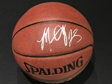 MARCUS CAMBY NEW YORK KNICKS SIGNED AUTOGRAPHED SPALDING BASKETBALL W/COA
