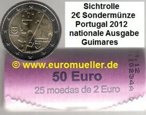 Portugal - Rolle - 2 Euro Gedenkmünze 2012 - Guimaraes