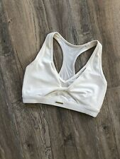 Gymshark Whitney Mesh Sports Bra Small Unbleached
