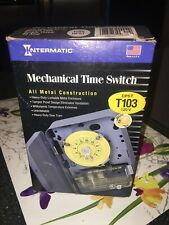 NEW Intermatic T103 24 Hour Time Timer Switch 120 Volt DPST