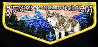 SHUNKAH MAHNEETU OA LODGE 407 GRAND TETON COUNCIL ID 544 BSA PATCH SERVICE FLAP
