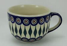 Bunzlauer Keramik Tasse Cafe Latte, Milchcafe, Jumbotasse, 0,45Liter (F044-54)