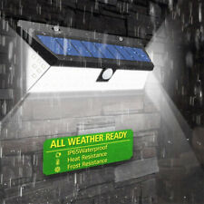 118 LED Solar Powered PIR Motion Sensor Wall lamp Human Body Infrared Lights U7