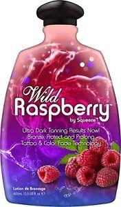 Squeeze Wild Raspberry Indoor Tanning Lotion 13.5 oz