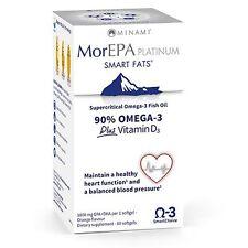 MorEPA Platinum Highest Omega 3 With Vitamin D3 (orange flavour) 60 capsules