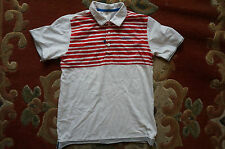 Retro Adidas Striped Polo T Shirt, XS, Hipster Vintage 80 90 Tennis Fit Gym Run