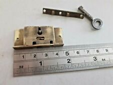 Brass Box Lock 1 Key 46mm x 18mm (2289)  1 Key