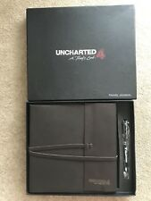 Very Rare Uncharted 4 Journal And Pen Set Promo Limited Edition